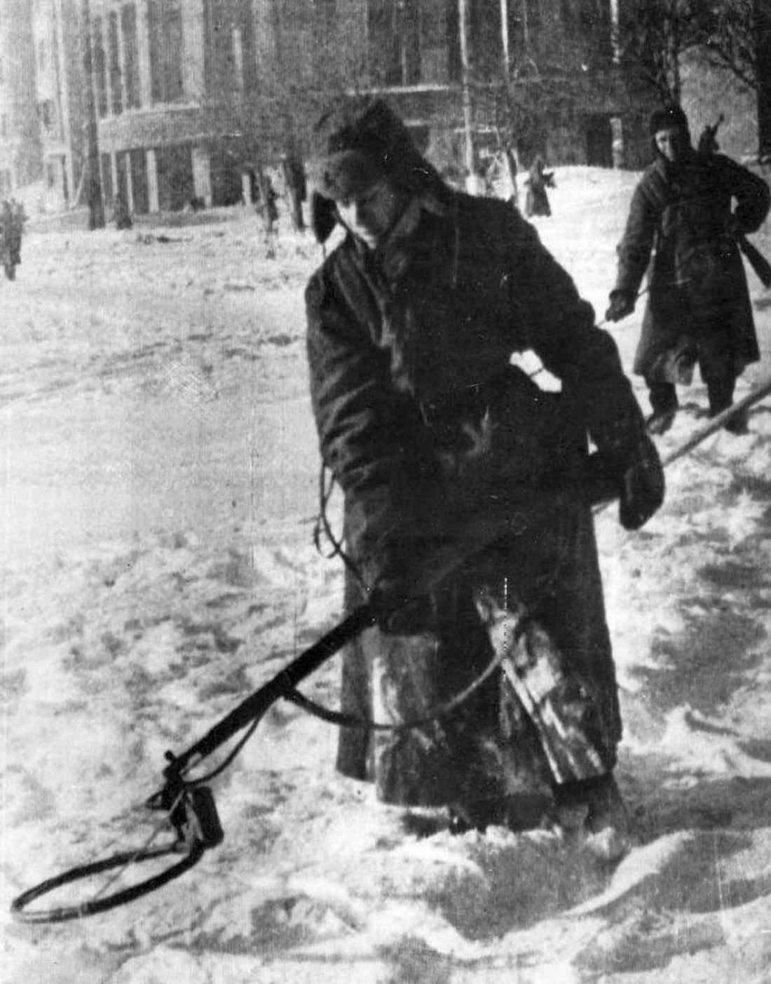 Разминирование освобожденного Воронежа