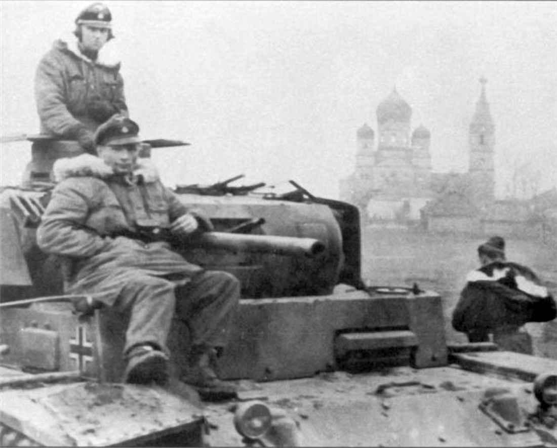 Немцы на окраине Белгорода