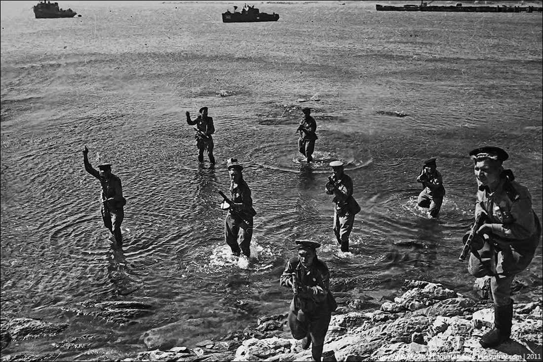 Морской десант в бою за Севастополь