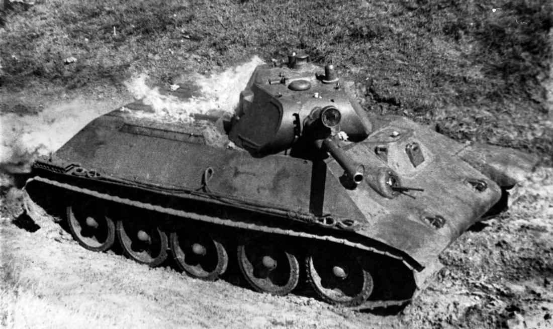 Испытания танка Т-34