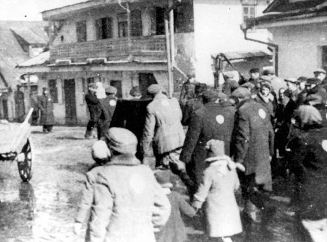 Депортация евреев из гетто