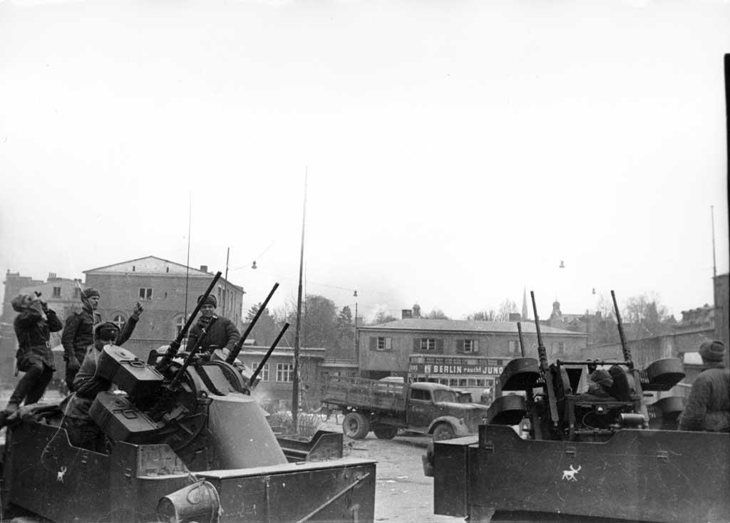 Советские войска в Данциге