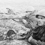 Советские солдаты в Крыму