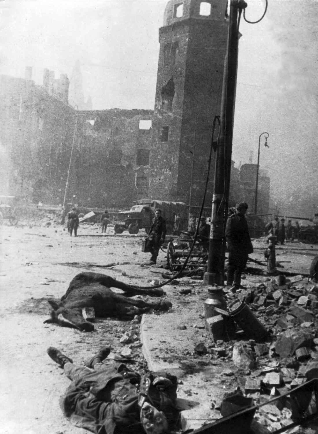 Кенигсберг после штурма