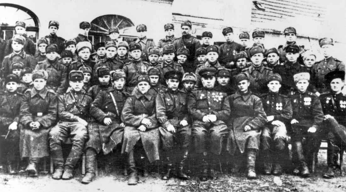 Парторги дивизии перед форсированием Одера