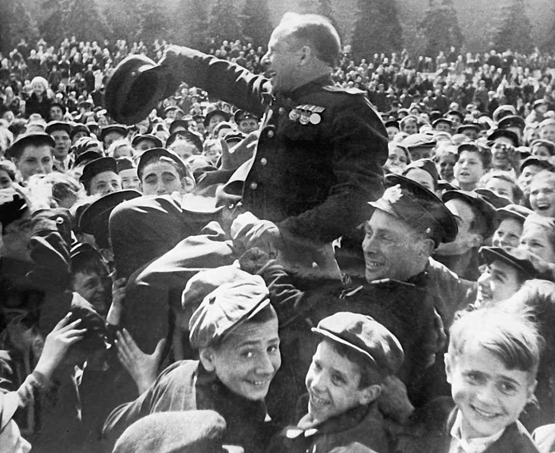 В День Победы на Красной площади