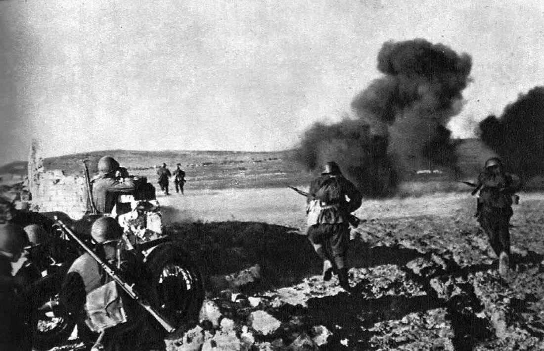 Контратака в районе Керчи
