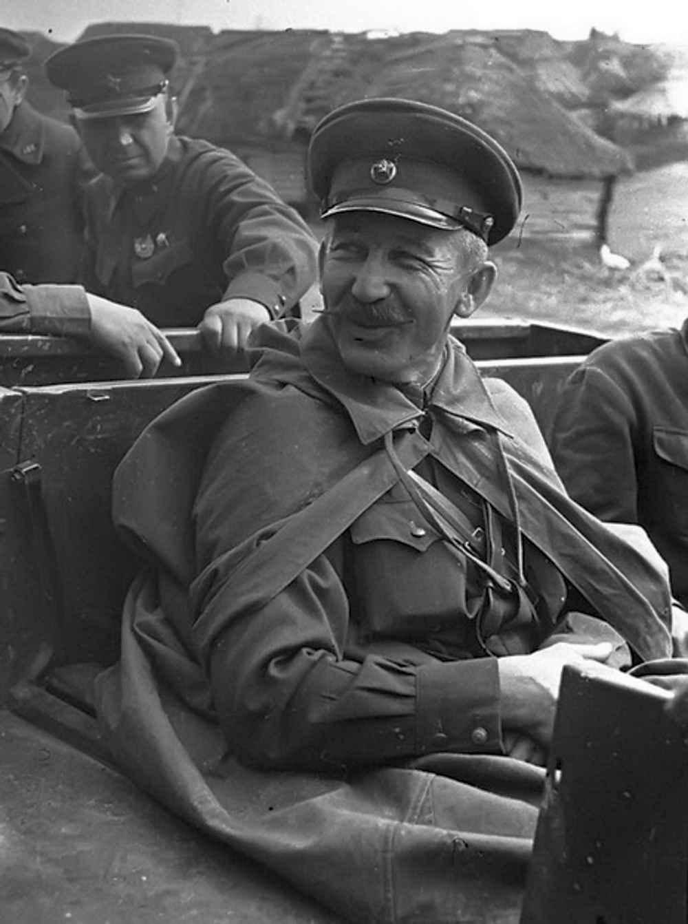 Командующий 61-й Армией Павел Алексеевич Белов