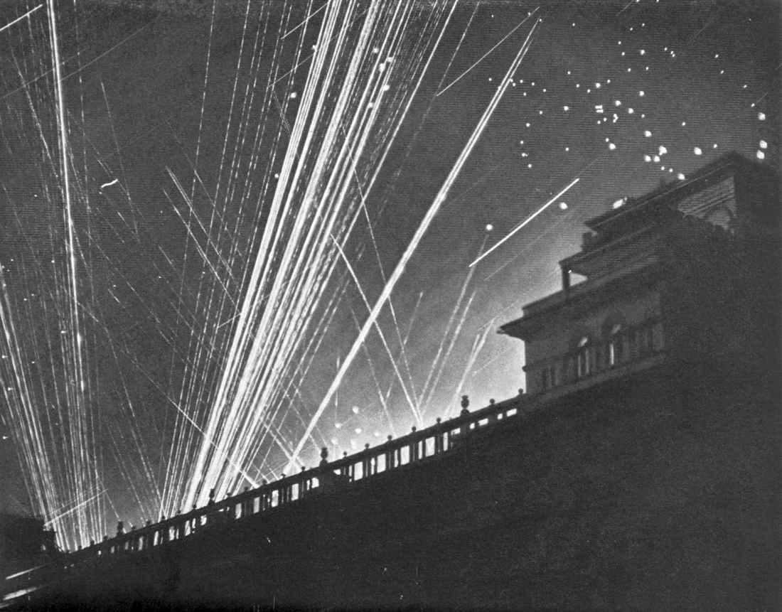 Налет немецкой авиации на Москву