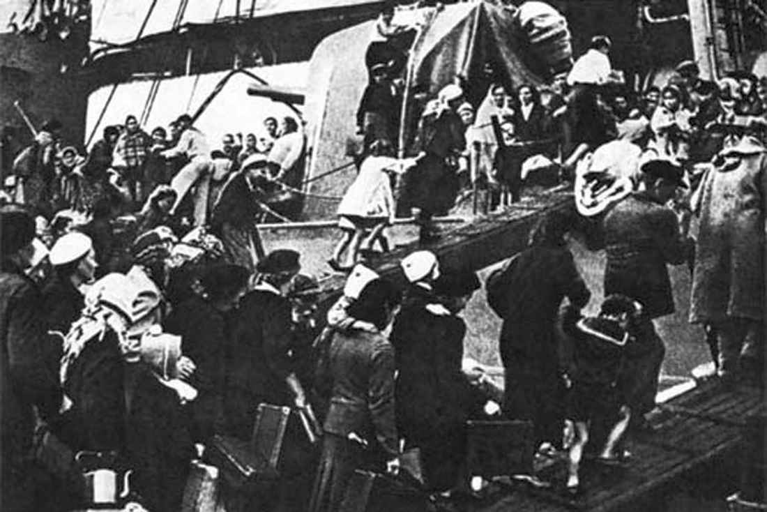 Эвакуация из Севастополя