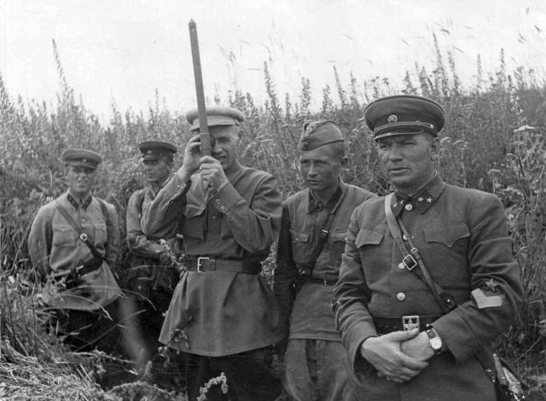 Командир 17-го стрелкового корпуса генерал-майор И.В. Галанин