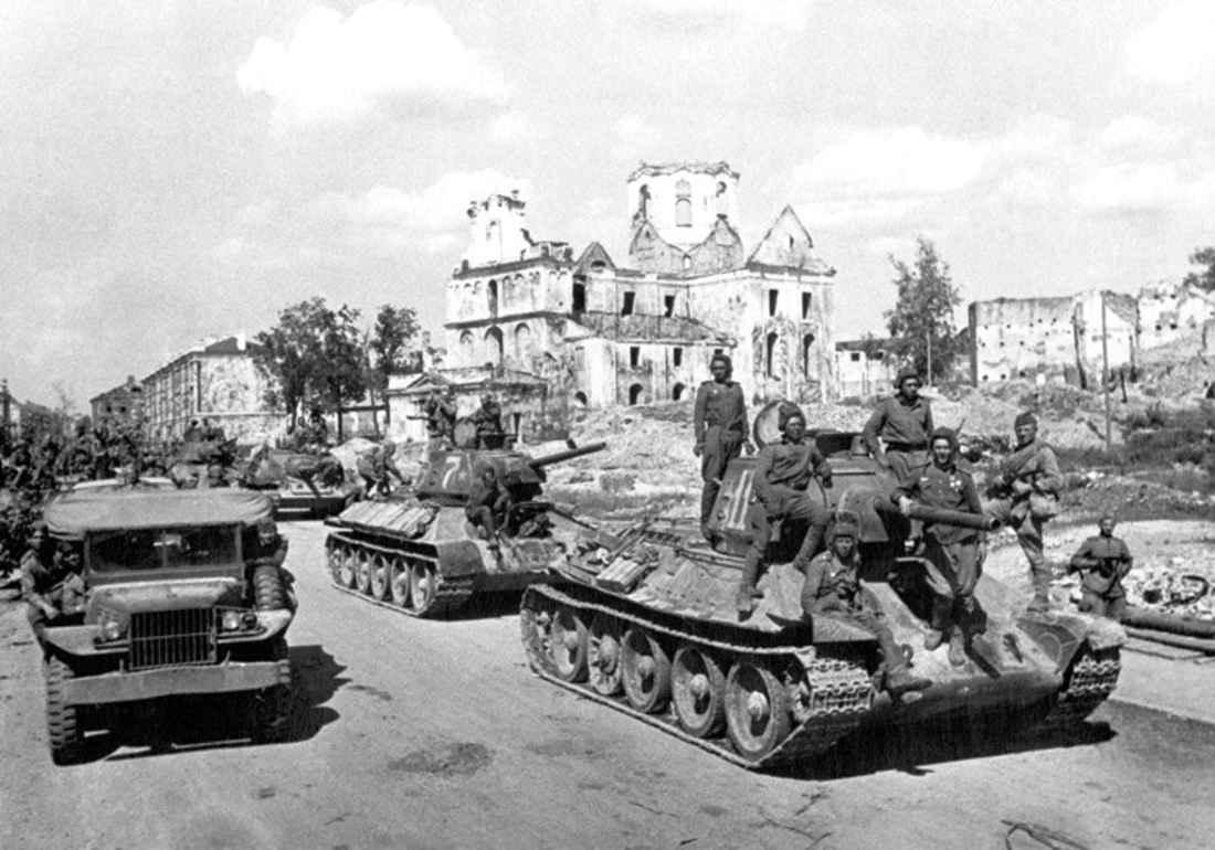Могилев 1944 год. Первые дни после освобождения