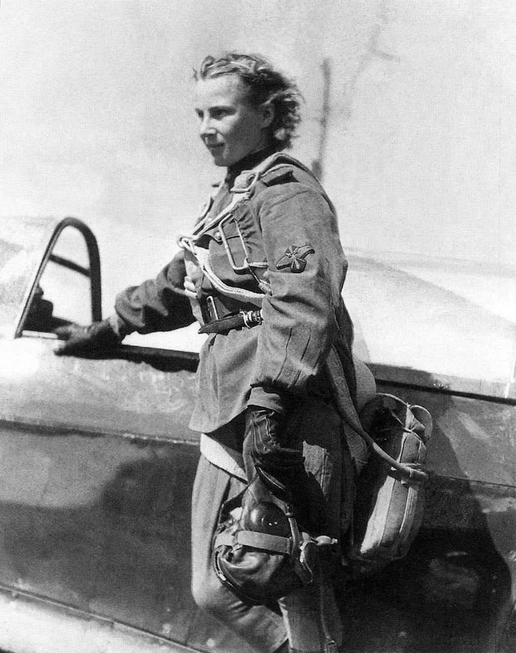 Младший лейтенант Лидия Литвяк