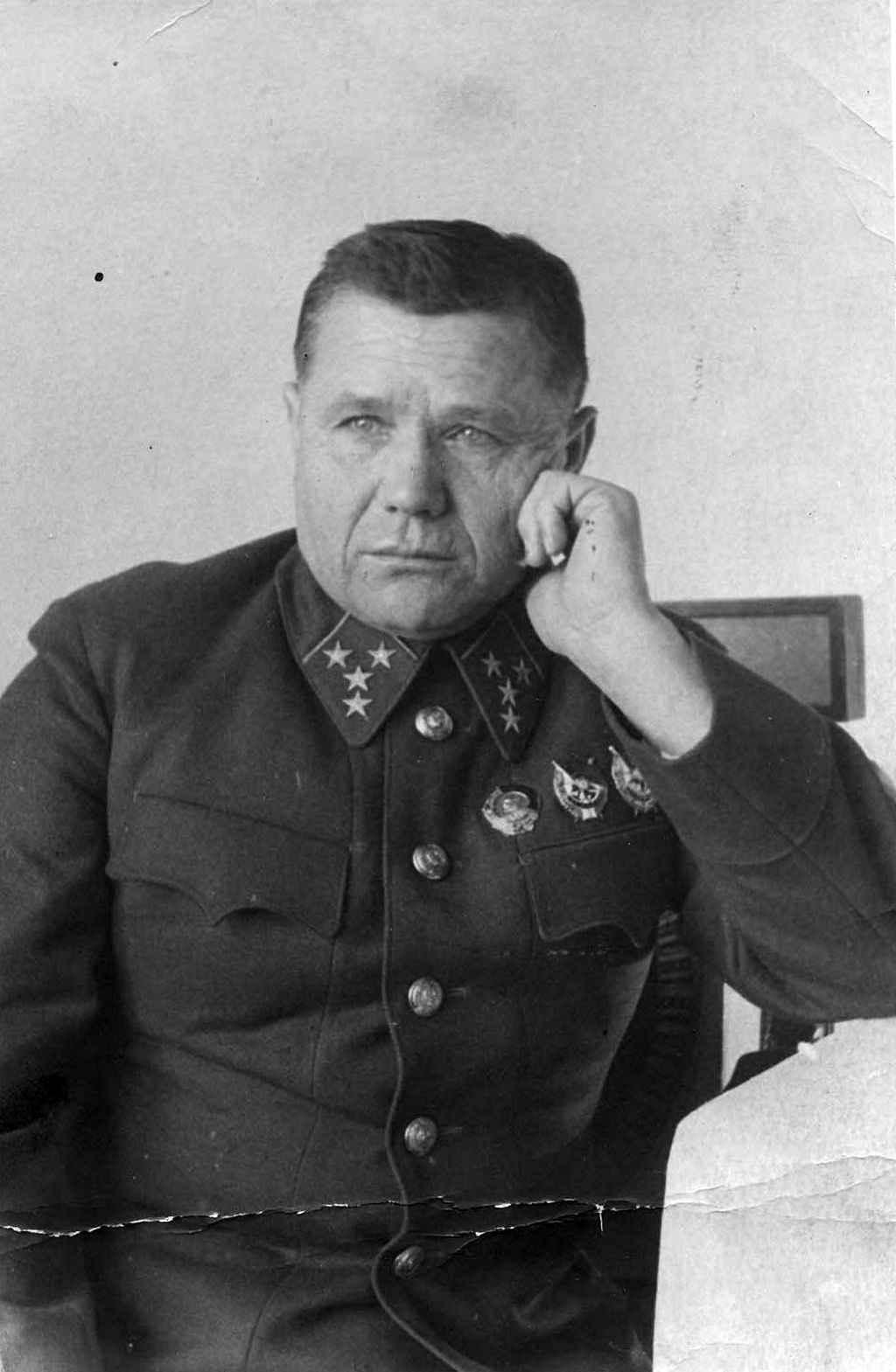 Командующий Брянским фронтом А.И. Еременко