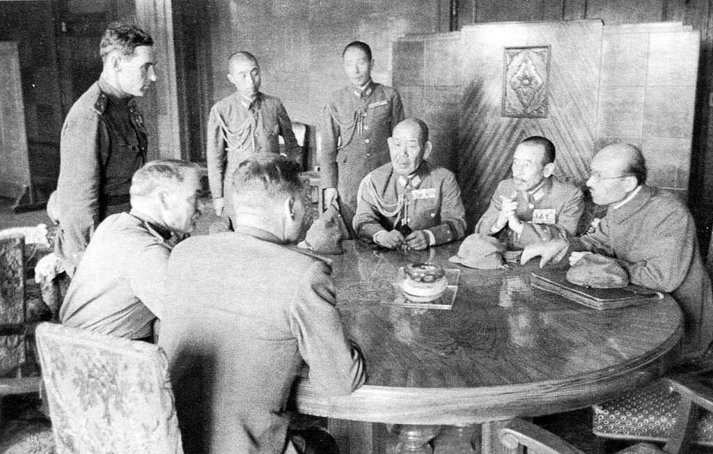 Переговоры о капитуляции Квантунской армии