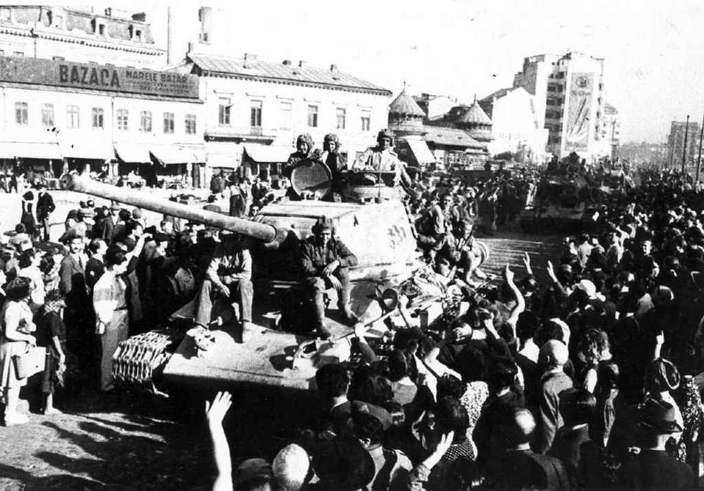 Советские войска в Бухаресте