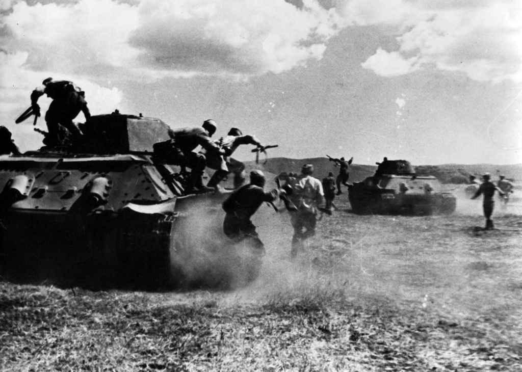 Штурм немецких укреплений «Голубая линия» на Таманском полуострове